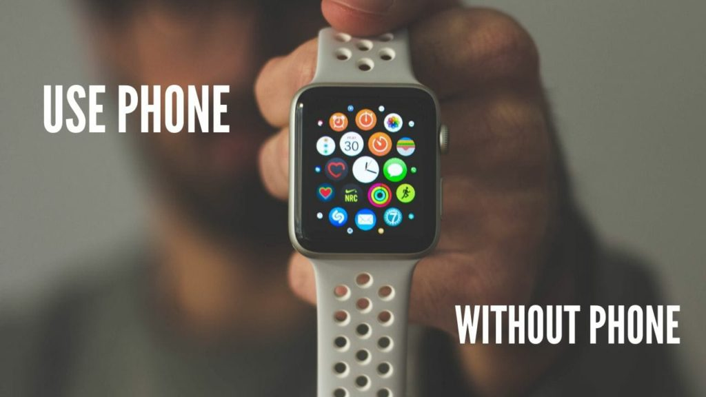 notify with smartwatch without phone