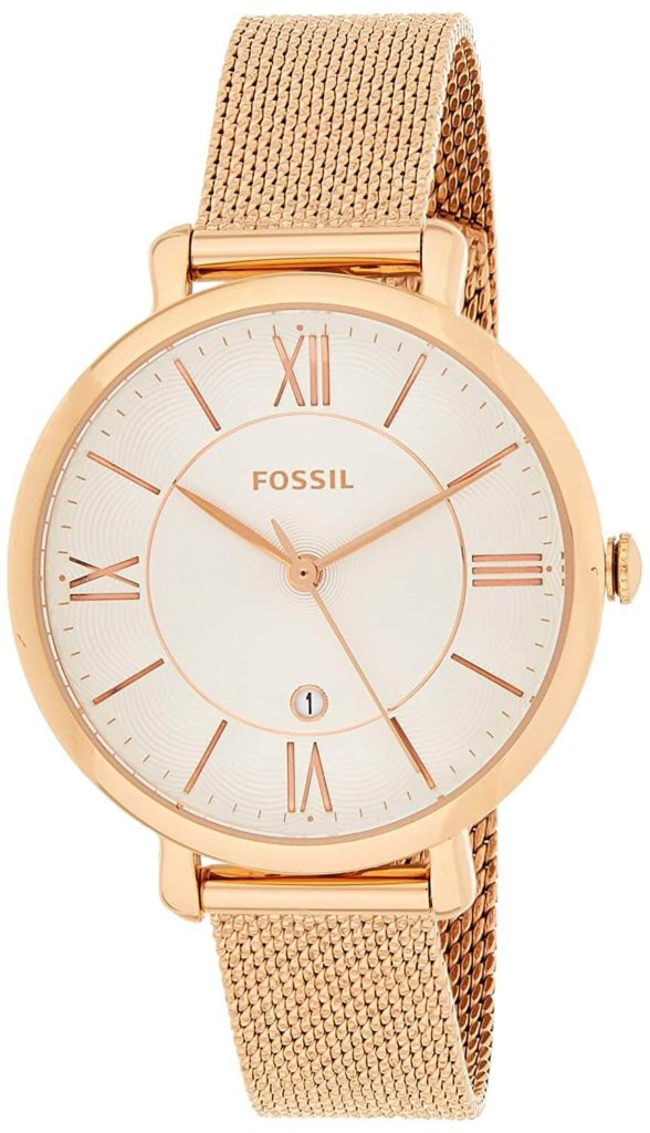 Fossil Jacqueline Analog Silver Dial