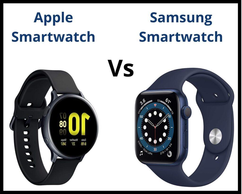 Apple Smartwatch vs Samsung Smartwatch