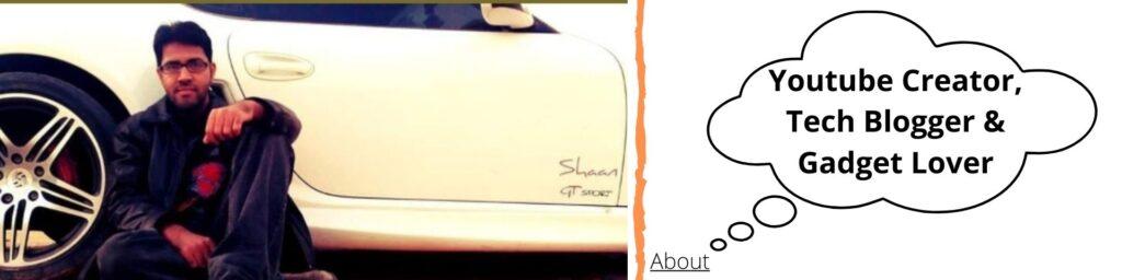 Tech Blogger: Shaan