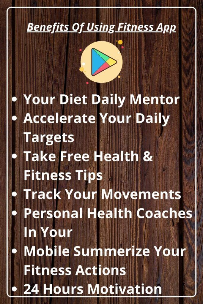 Benefits Of Using Fitness App