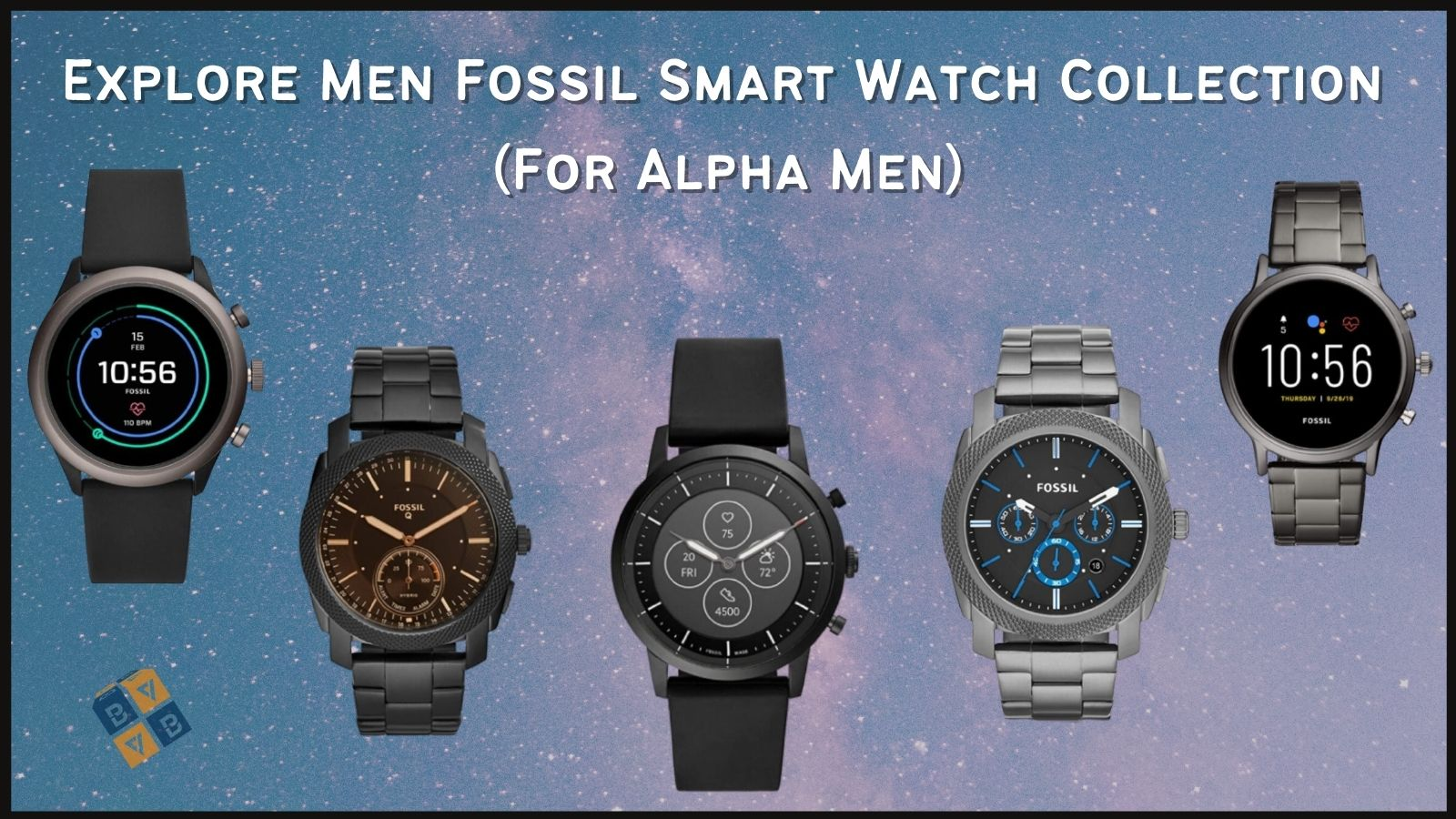 Fossil Men Smart Watch Collection