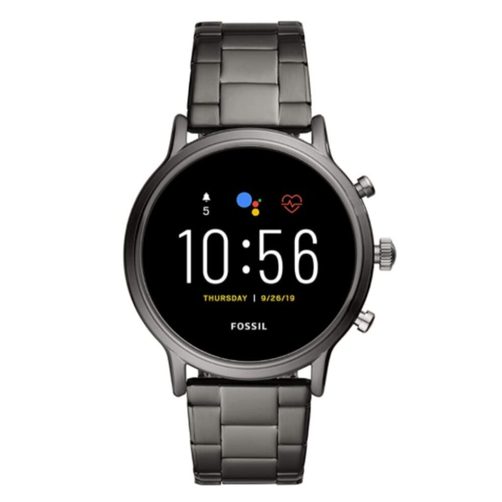 Fossil Gen 5 Carlyle Stainless Steel | Fossil Smart watch for men