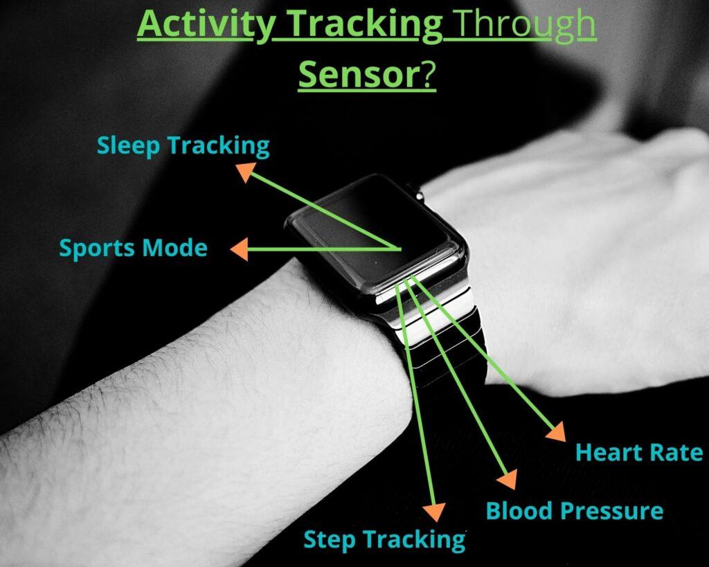 Activity Tracking Of Smartwatch| smartwatch sensor