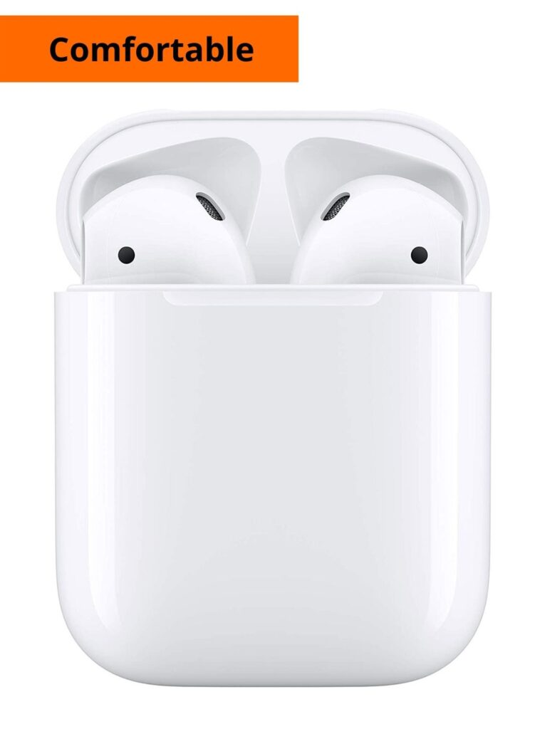 Apple AirPods with Charging Case(Wired), Wireless earphones