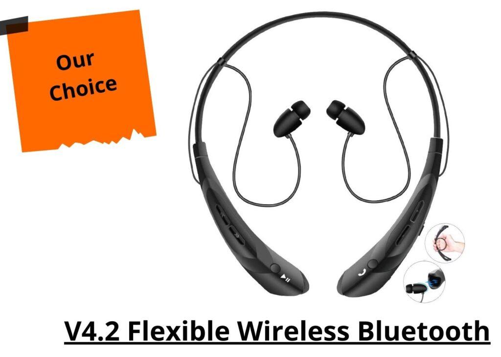 V4.2 Flexible Wireless Bluetooth | bluetooth earphones neckband