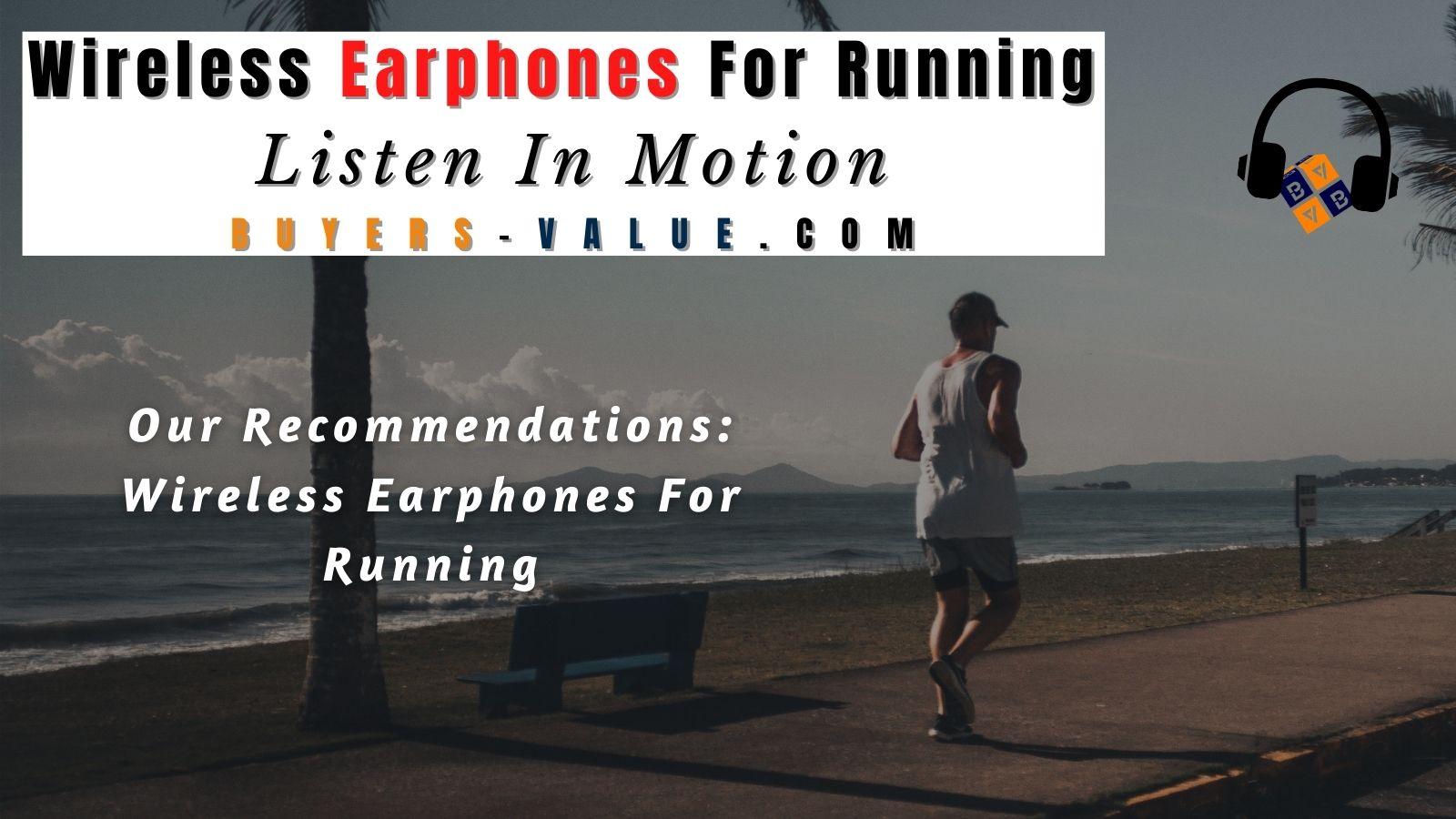 Wireless Earphone For Running
