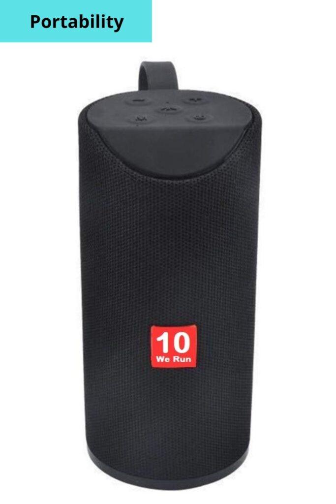10WeRun R10 Portable Bluetooth Speaker   Bluetooth Sound Box Under RS. 1000
