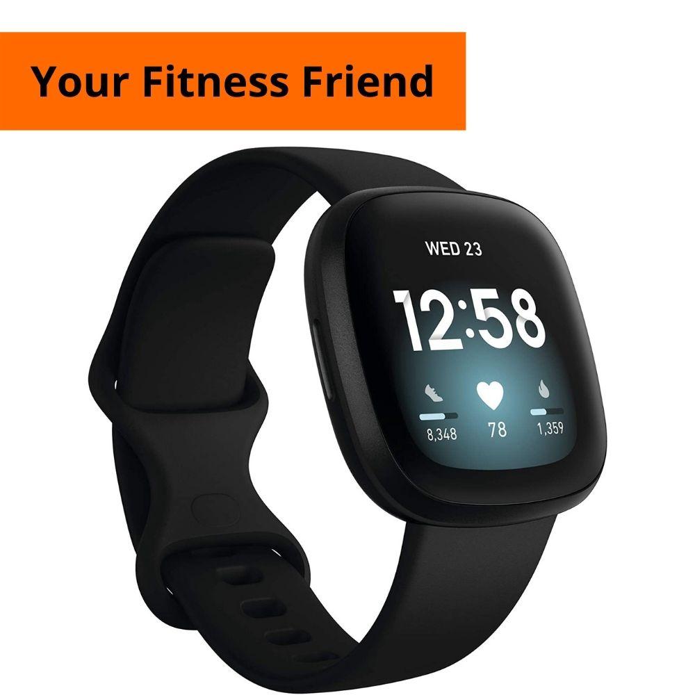 Fitbit Versa 3 (The Best Fitness Fellow)