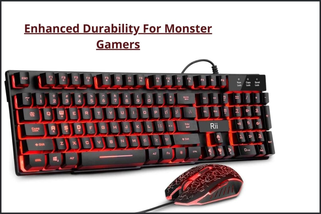 Rii Gaming Keyboard and Mouse Set
