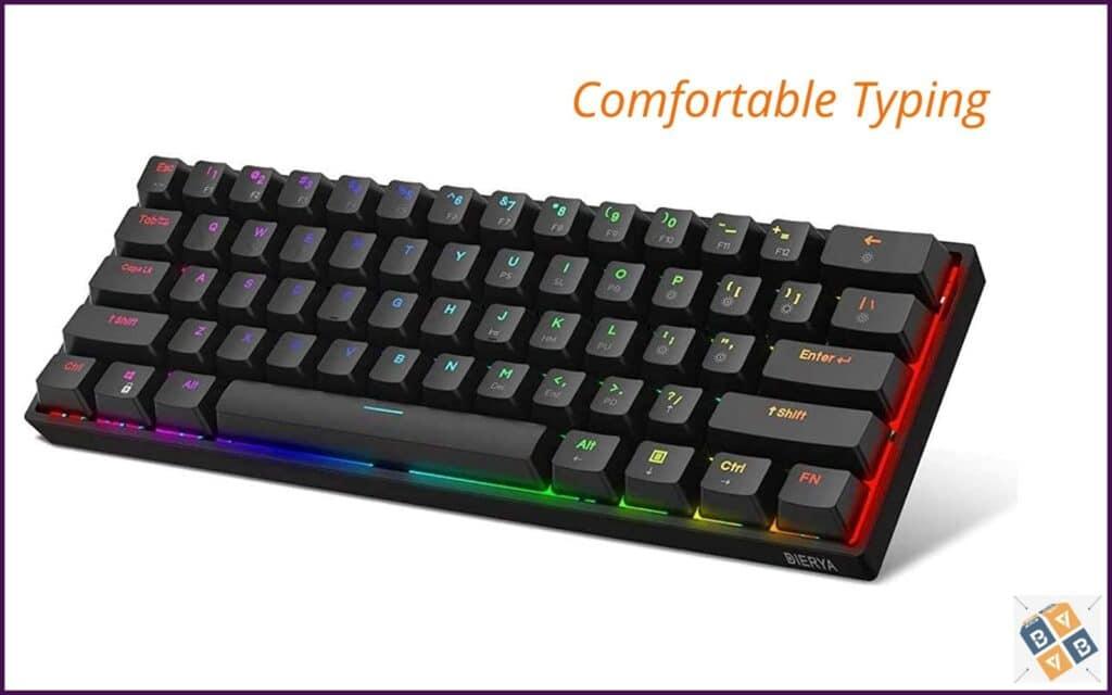 DK61E 60% Mechanical Gaming Keyboard