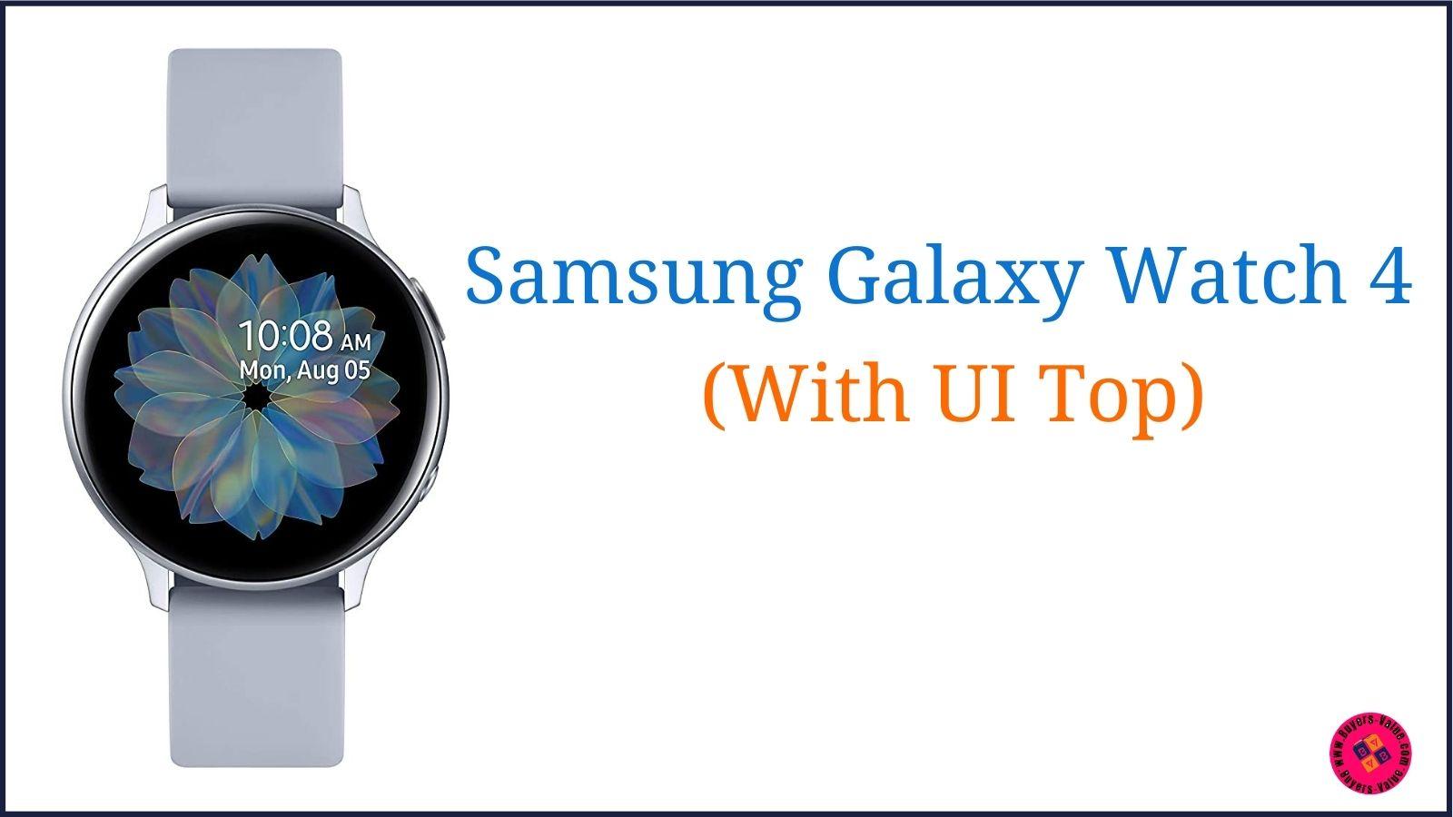 Samsung Galaxy Watch 4 Features