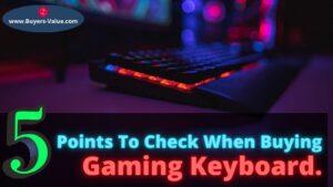 Buying Gaming Keyboards