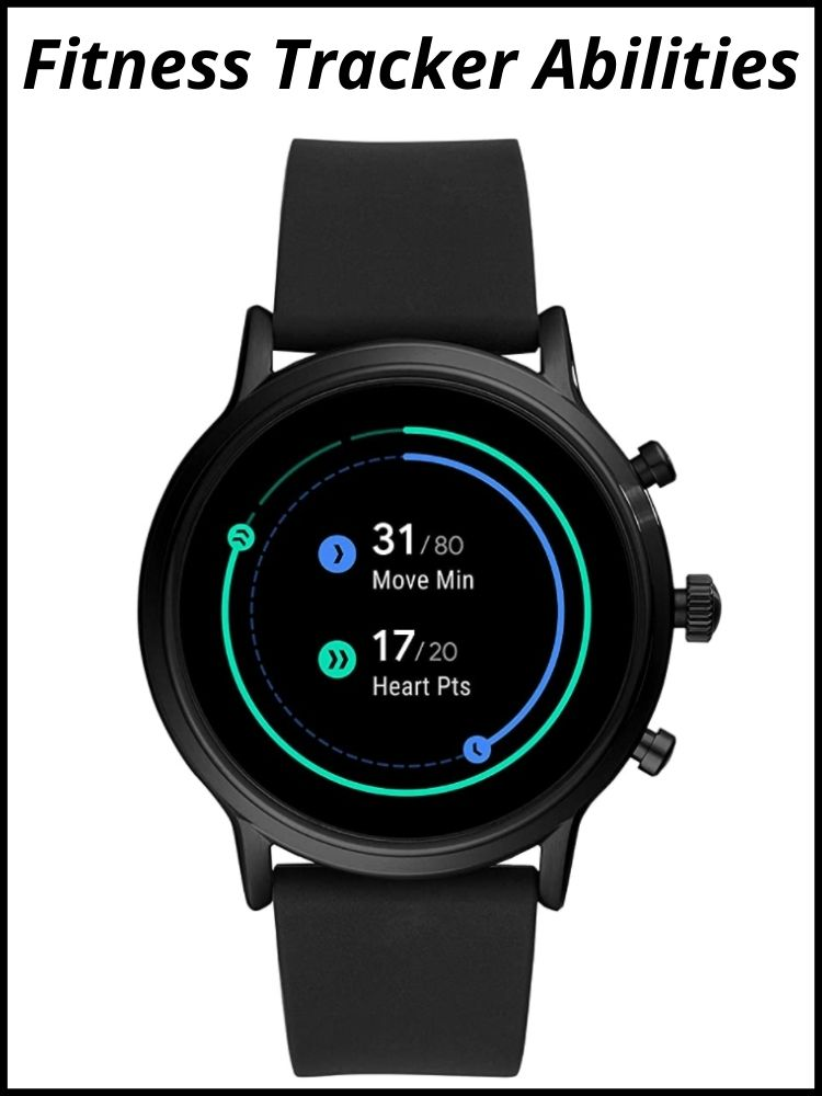 Fitness Tracking Of Fossil Watch