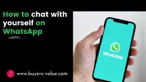 How To Chat With yourself on WhatsApp