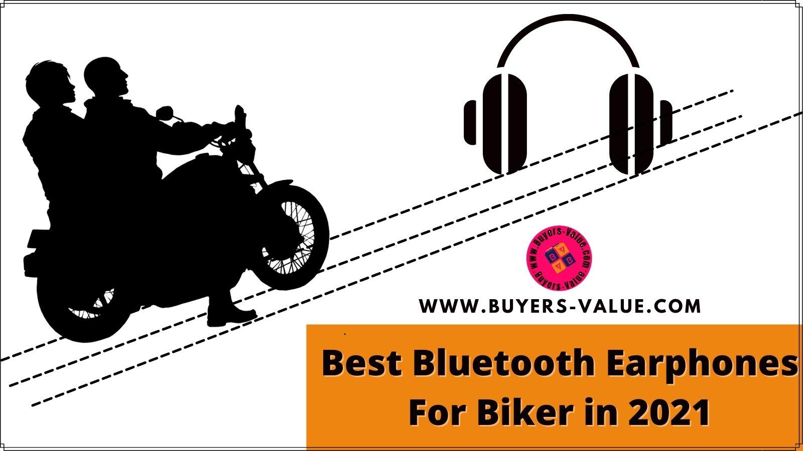 best Bluetooth earphones for bikers