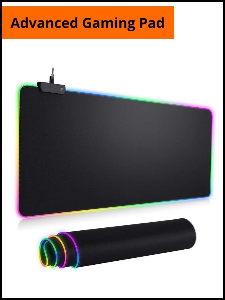 RGB Mousepad Led Mouse Pad | Gaming Accessories For Battleground Mobile