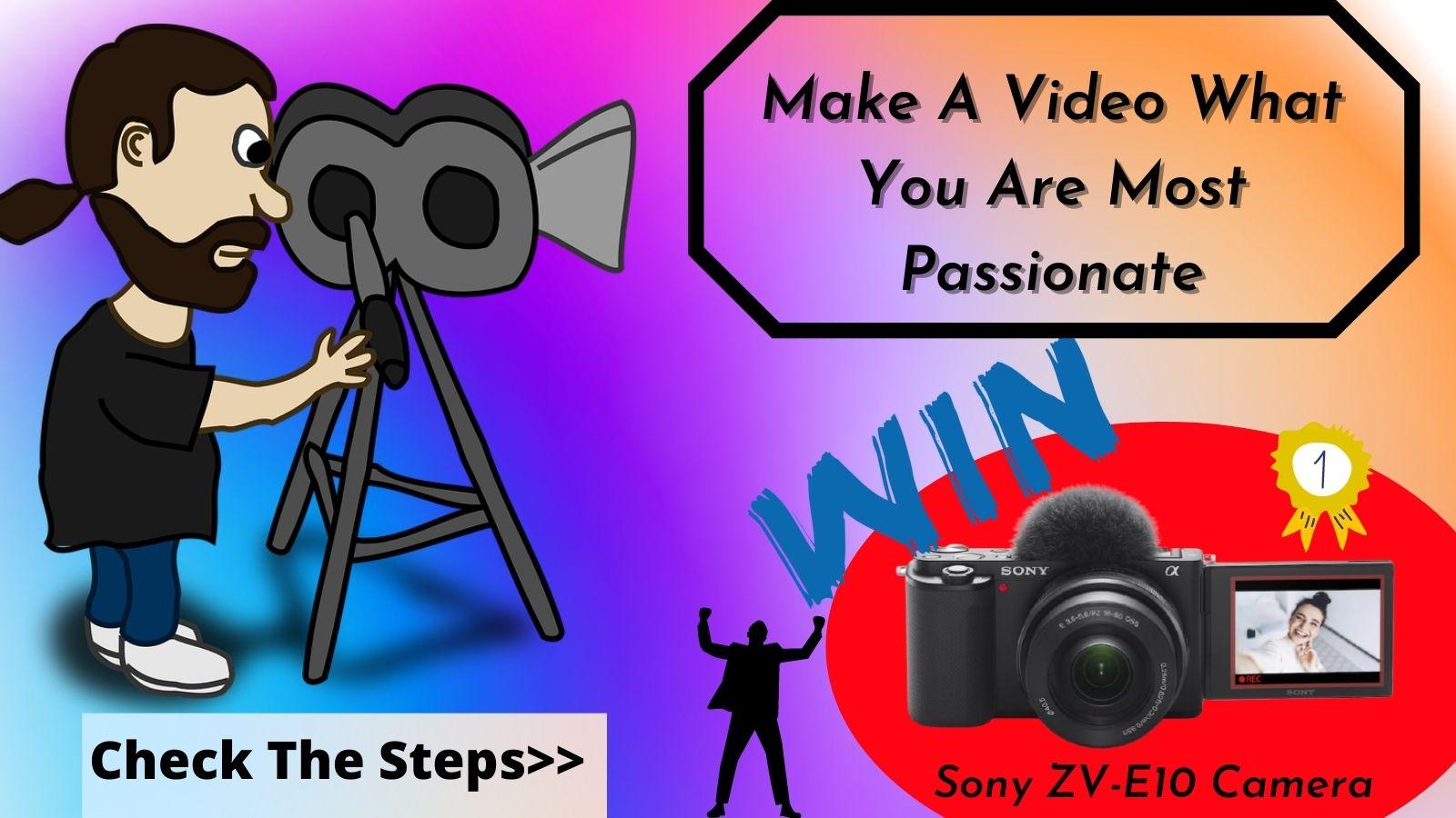 Win Sony ZV-10 Camera