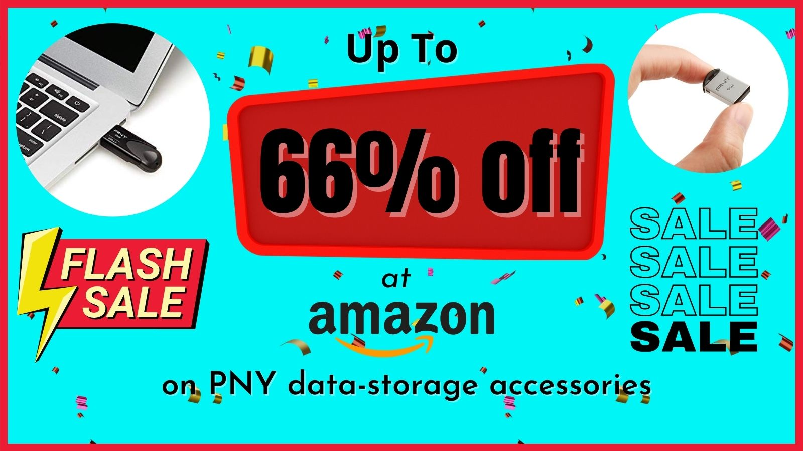 Up To 66% off at Amazon on PNY data-storage accessories