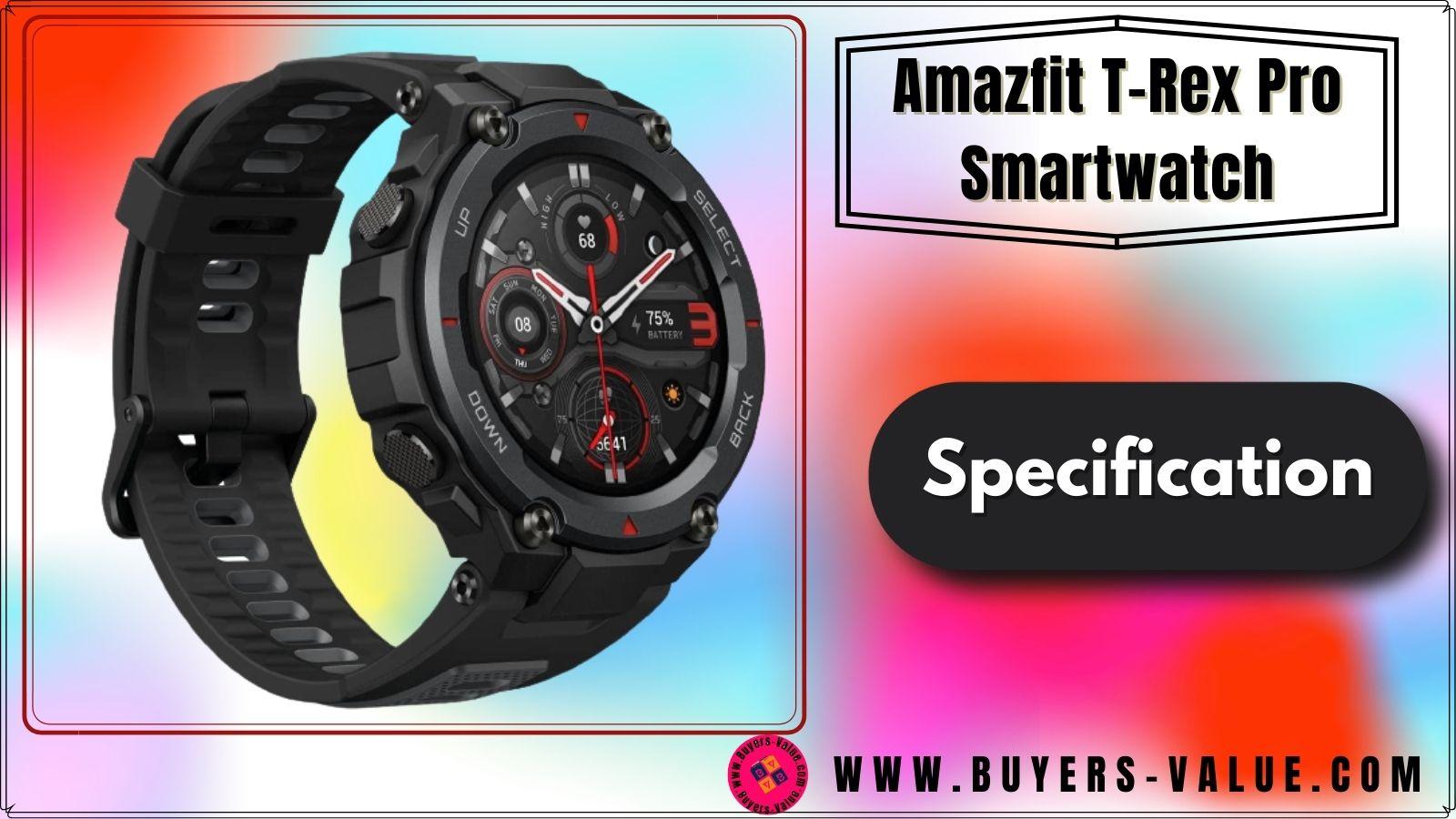 Amazfit T-Rex Pro Specifications