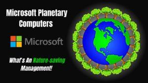 Microsoft Planetary Computers