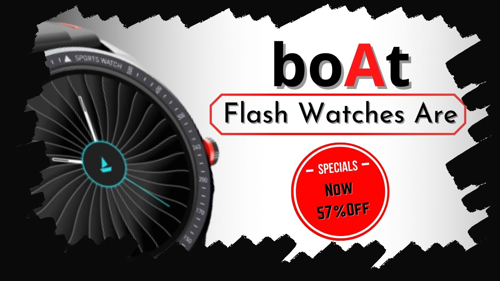 Flash Watches Are Now 57 Percent Off