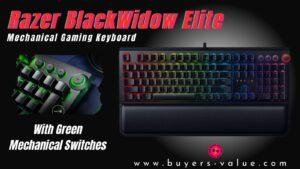 Razer BlackWidow Elite Review